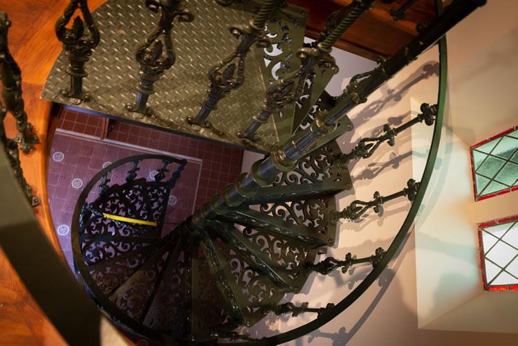 クライストチャーチ ローズチャペル螺旋階段